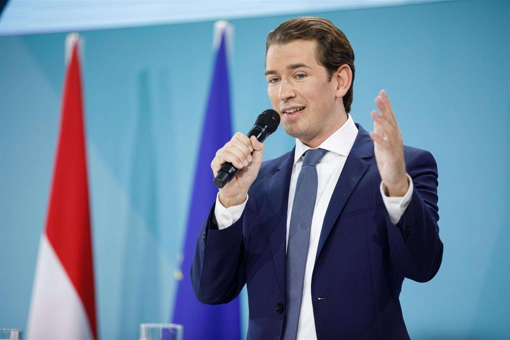 Illustration: In Austria trionfa Kurz, rebus governo